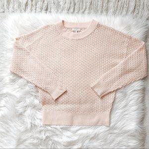 Joie Blush Pink Knit Sweater